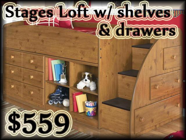 B233STAGESLOFTshelves&drawers$559