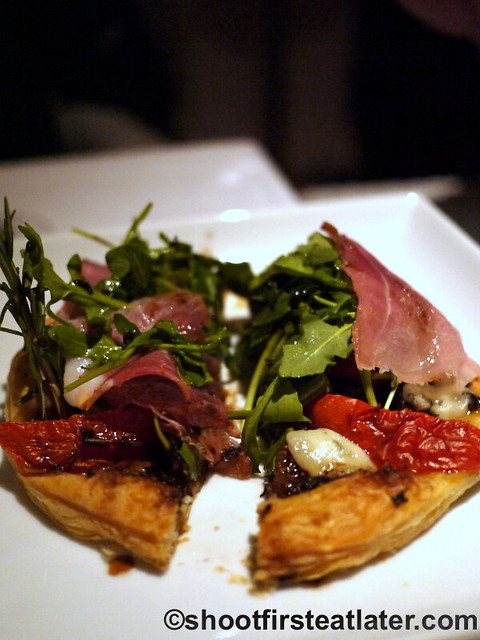 Fig & Olive- fig gorgonzola tartlet $15-001