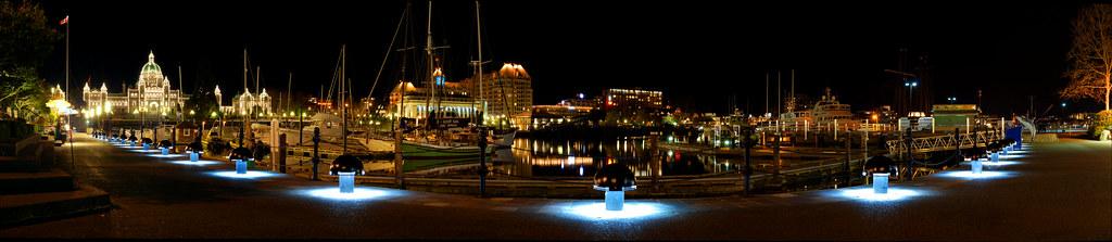 Victoria Harbour, Canada Panorama 2012