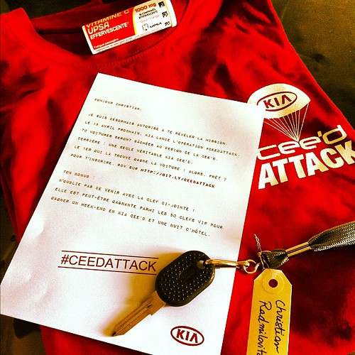 Lancement de la KIA cee'd Paris #ceedattack