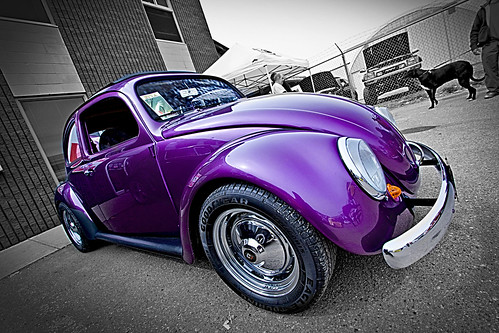Purple VW Bug 01B