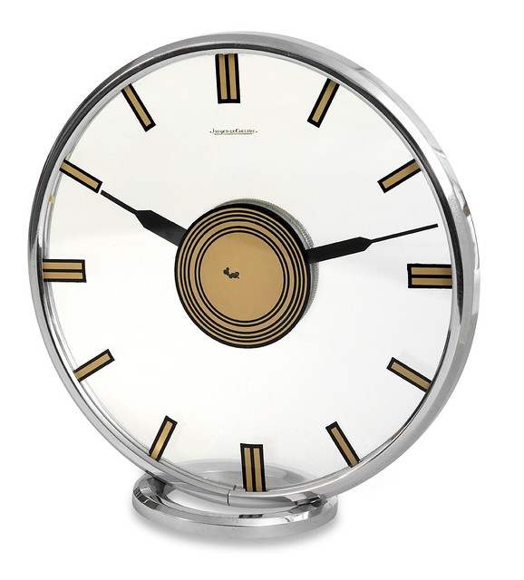 Jaeger-LeCoultre Chromed Clock 1935