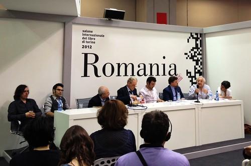 SalTo12 12MAY (04) Letteratura e ideologia tra Est e Ovest, prima e dopo l'89, in Romania