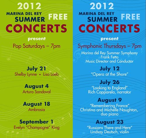 Burton W. Chace Park Summer Concert Series 2012