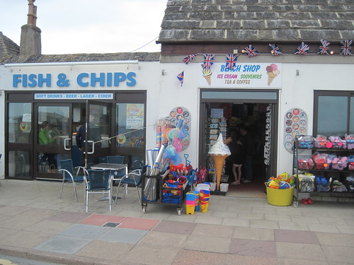 Fish & Chips in Swanage
