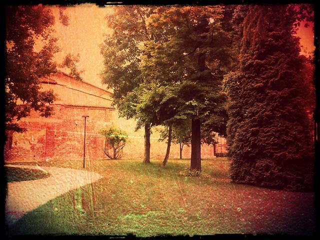 Giardini Malaspina, Pavia