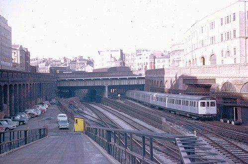 Approaching Farringdon in 1971