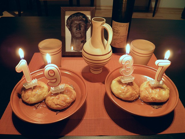 Libum / Sweet Cheesecake - Dies Natalis Divi Hadriani Augusti!