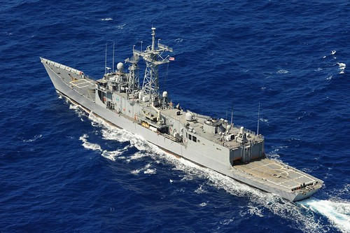 SAN DIEGO - The Oliver Hazard Perry-class guided-missile frigate USS McClusky (FFG 41) is expected to depart San Diego for a scheduled deployment to the 4th Fleet area of operations.