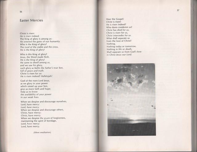 Easter Mercies from 'Australian Prayers' by Bruce D. Prewer