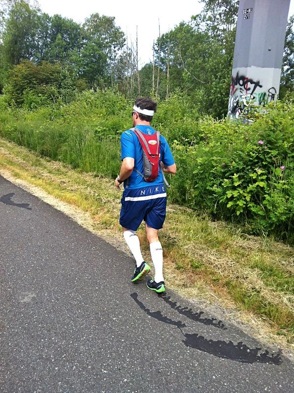 Joshy running 20 miles