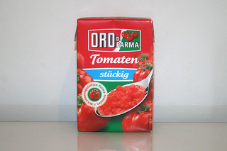 07 - Zutat Tomaten in Stücken / Ingredient tomatoes in pieces