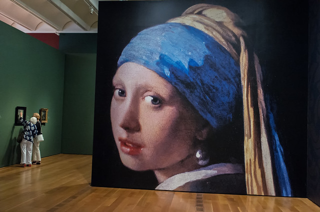 Girl with a Pearl Earring at High