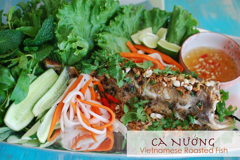 Cá Nướng {Vietnamese Roasted Fish}