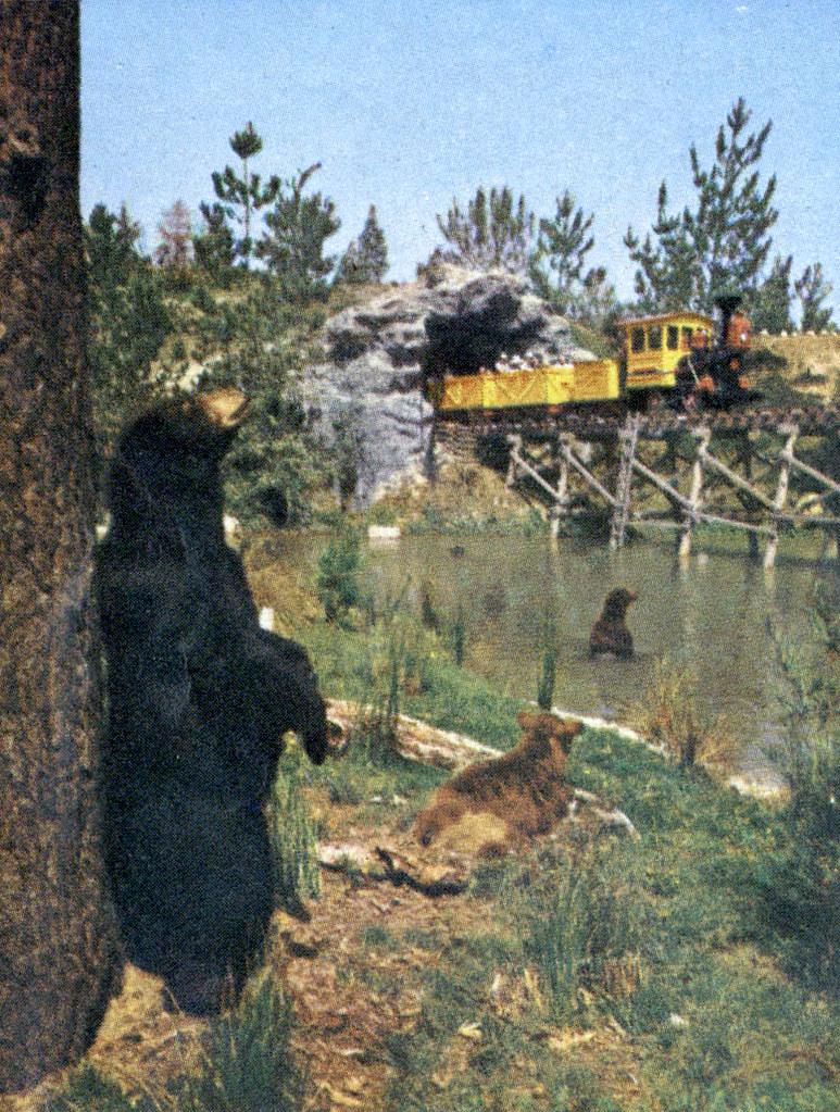 Mine Train Through Nature's Wonderland - Bear Country, 1964