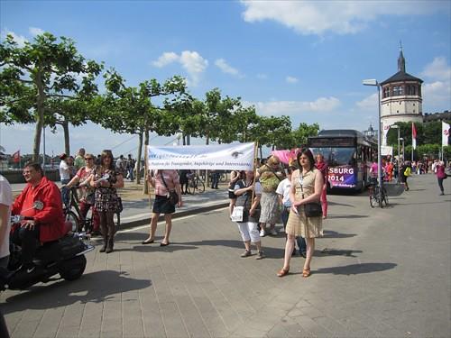 CSD Düsseldorf 2014 Gendertreff Demonstration 010