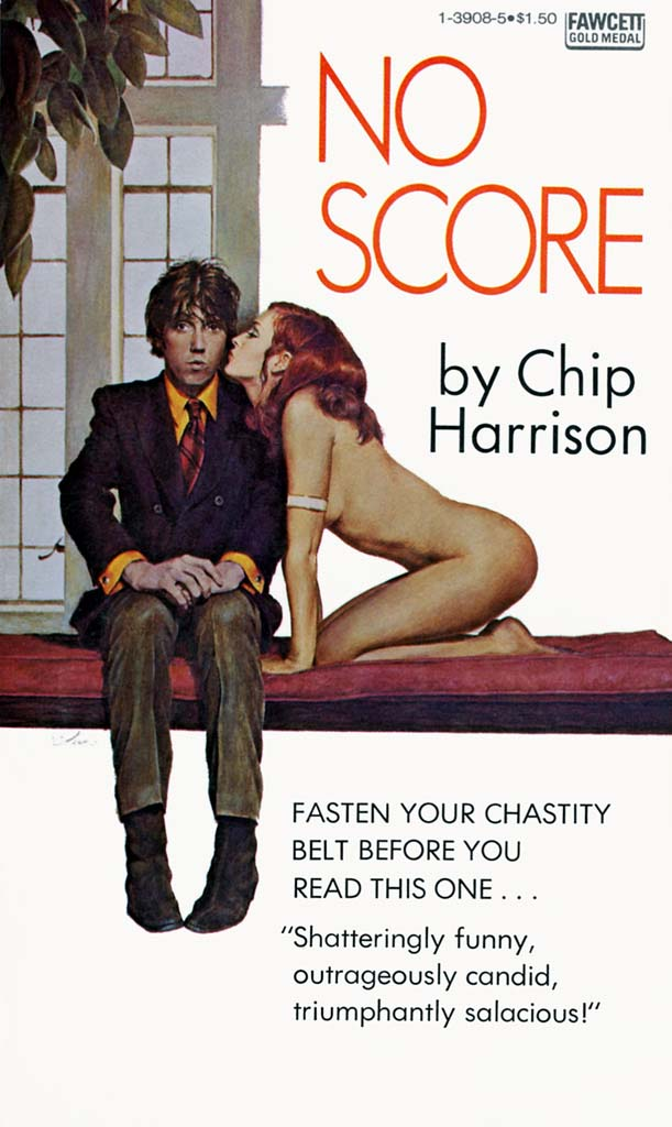 Cover Chip Harrison, No Score, 1970. Art by Elaine Duillo