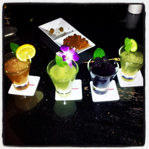 Flight of Mojitos