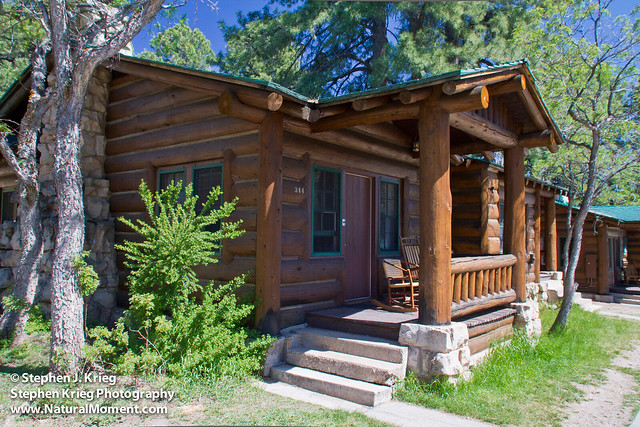 Log Cabin Grand Canyon North Rim Flickr Photo Sharing