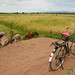 Bicycle in the Rice Fields - Mto wa Mbu, Tanzania