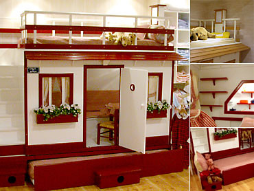 Dormitorios Infantiles Camas Casa Castillos Literas Liq12 ...