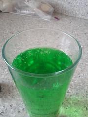 Green carbonated koolaid