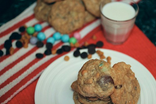 Thick and Chewy Compost Cookies