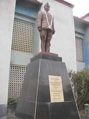 Statue of Netaji at INA complex in Moirang