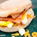 Homemade Ham & Egg Breakfast Muffin
