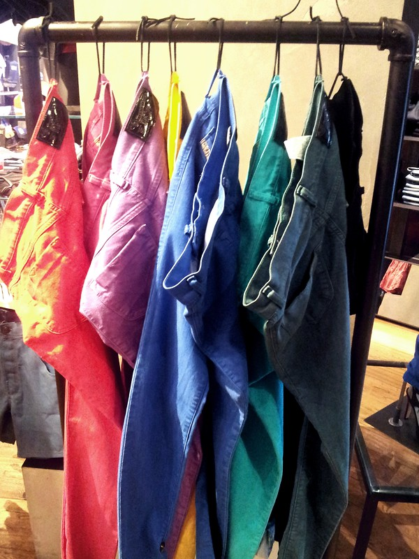 Diesel colored jeans