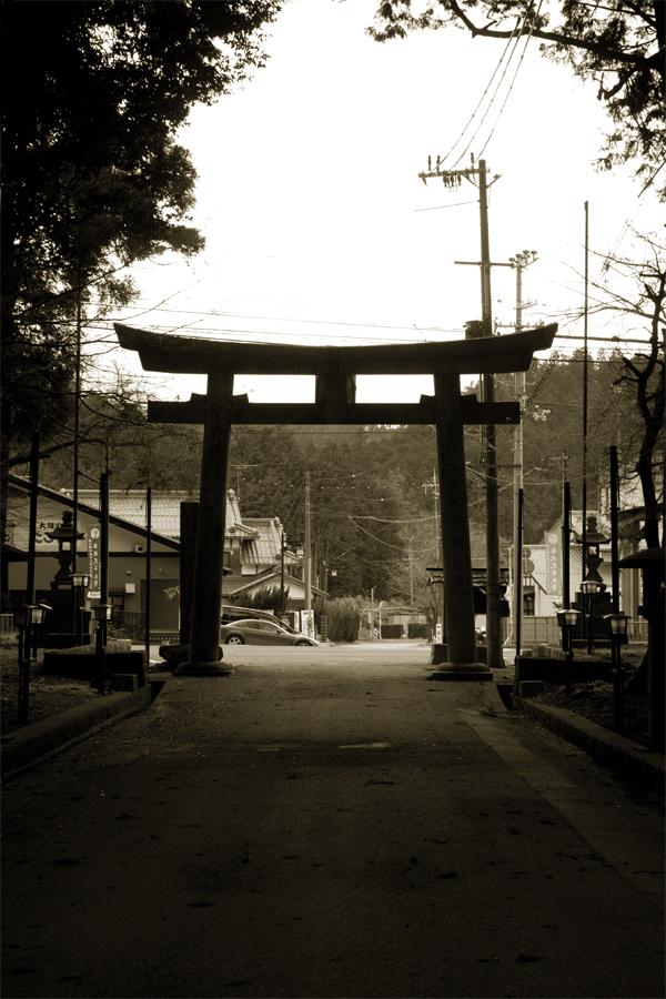 第一鳥居|田村神社