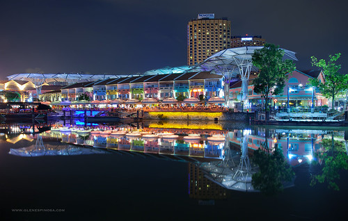 Reflections and Colors of Clark Quay