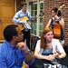 5/8/12 - 4:40 PM - Scholarship winners enjoy the jazz band