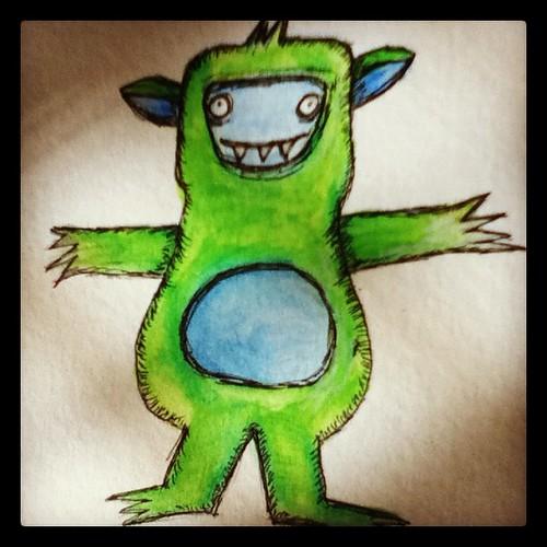 Green Rawr!