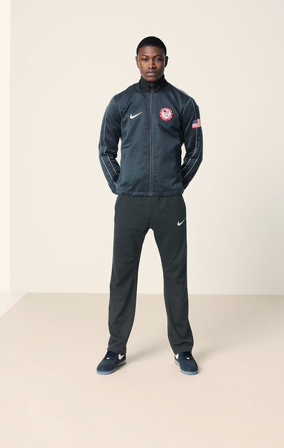 Nike USA medal stand and apparel