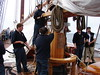 Bluenose II: Lowering the Sail