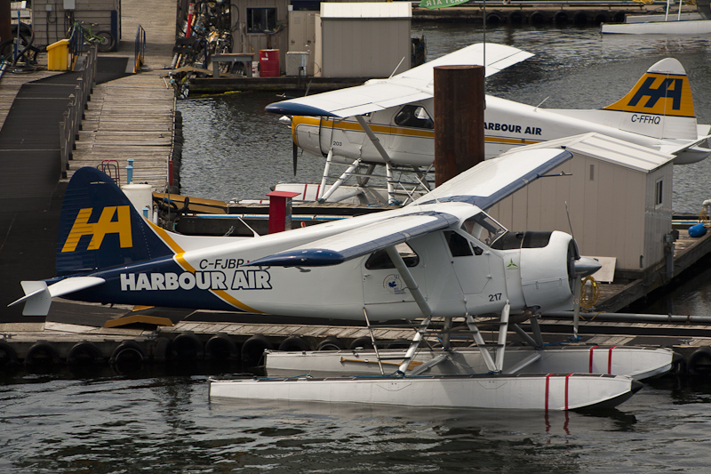 Harbour Air Ltd's new Tail Job