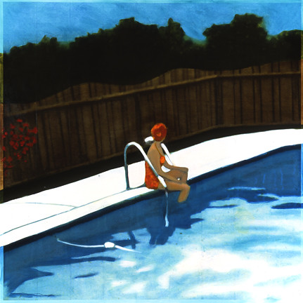 Orange Suit Bather, 2006