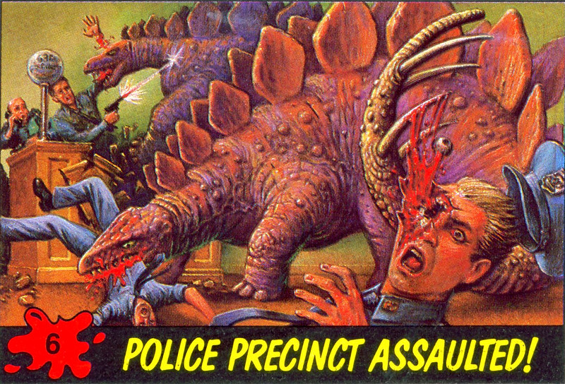 Dinosaurs Attack! Card #06