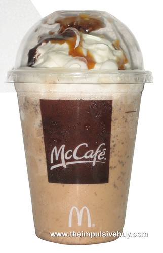 Review Mcdonald S Mccafe Frappe Chocolate Chip The Impulsive Buy