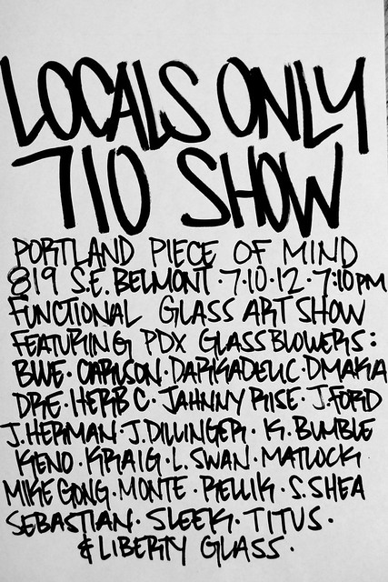 locals only 710 show