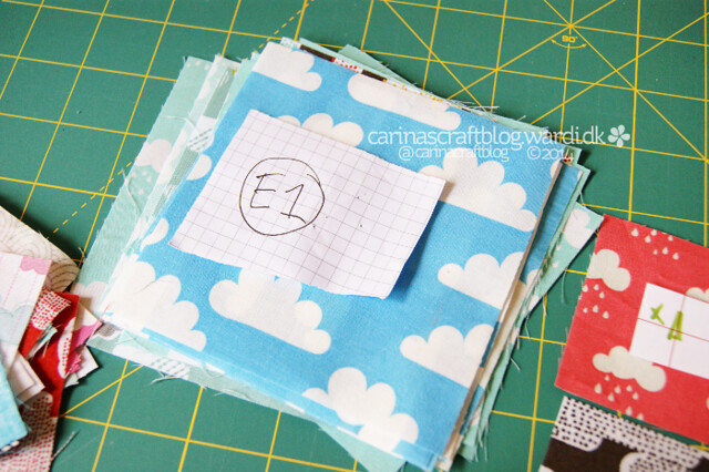 Cloud Quilt - keeping things organised
