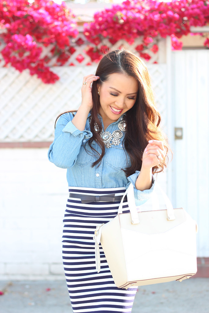 Chambray and Stripes-7