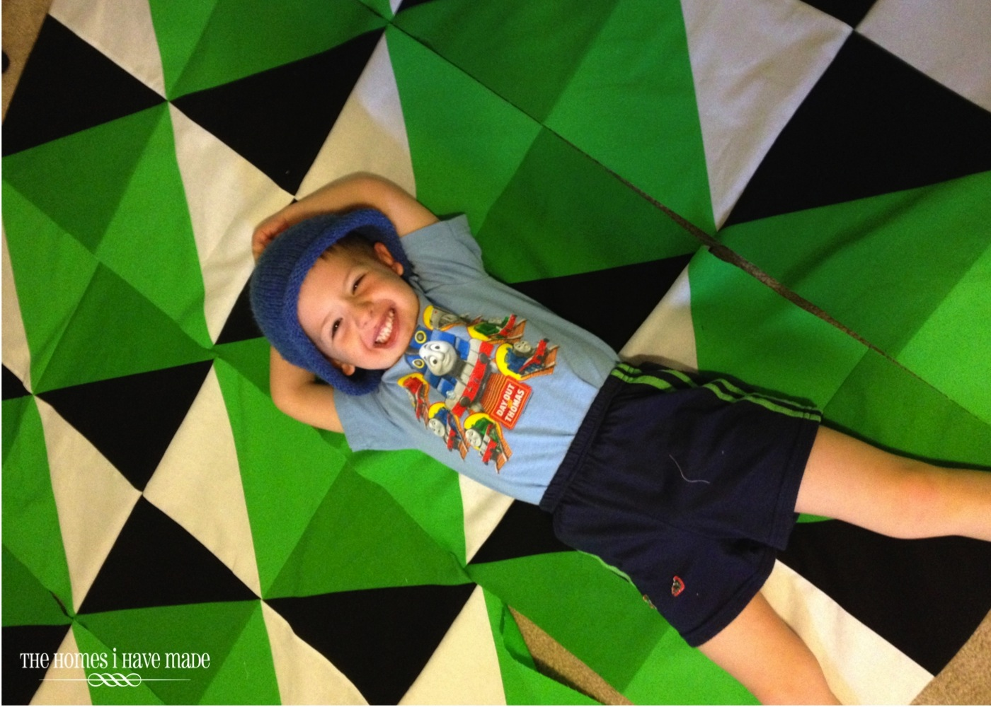 Henry's Green Quilt-007