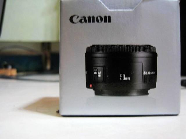 EF 50mm f/1.8 ll 鏡頭