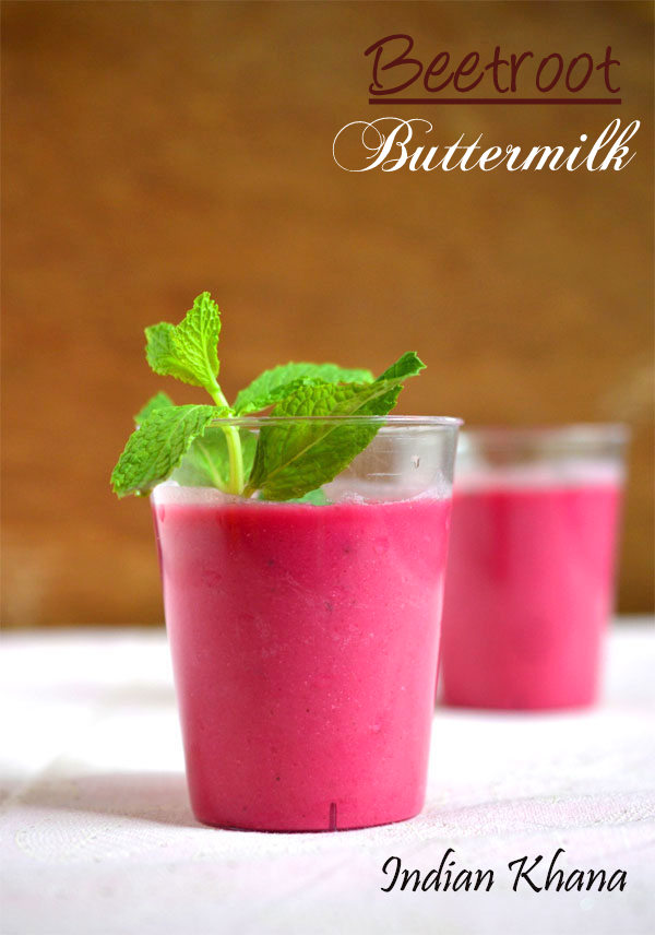 Beetroot Buttermilk
