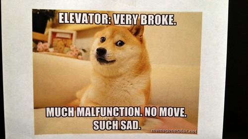 Elevator Broke