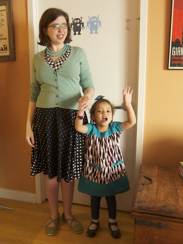 Me Made May 12: Teal Takeover Day for Food Allergy Awareness Week