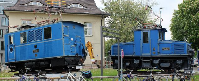 Bayerische Zugspitzbahn | AEG Tfz 3 (143474) & 11 (5317) | [DE] Deutsches Museum - Verkehrszentrum | 26.04.2014