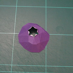 วิธีทำโมเดลกระดาษตุ้กตา คุกกี้รสราชินีสเก็ตลีลา จากเกมส์คุกกี้รัน (LINE Cookie Run Skating Queen Cookie Papercraft Model) 006